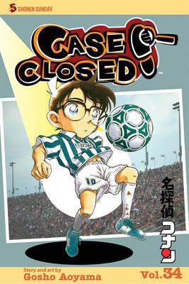 Case Closed, Vol. 34 by Gosho Aoyama