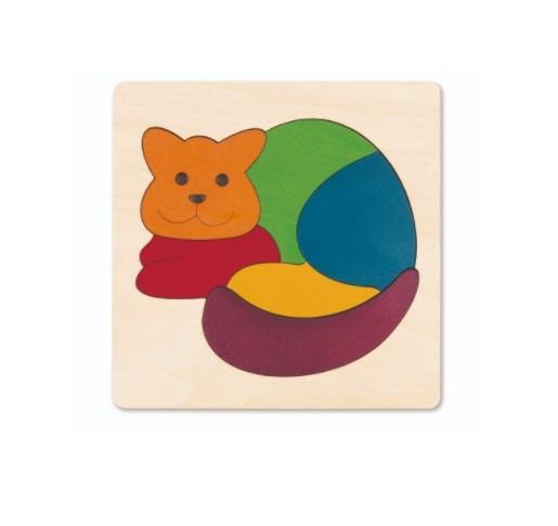 Hape: Rainbow Cat Puzzle image