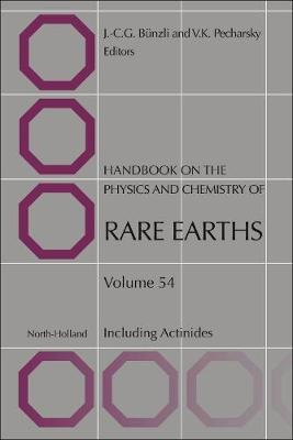 Handbook on the Physics and Chemistry of Rare Earths: Volume 54 image