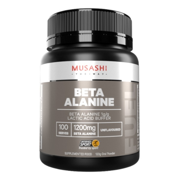 Musashi 100% Beta-Alanine (120g) image