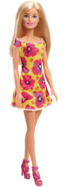 Barbie: Floral Trendy Doll - Yellow Dress