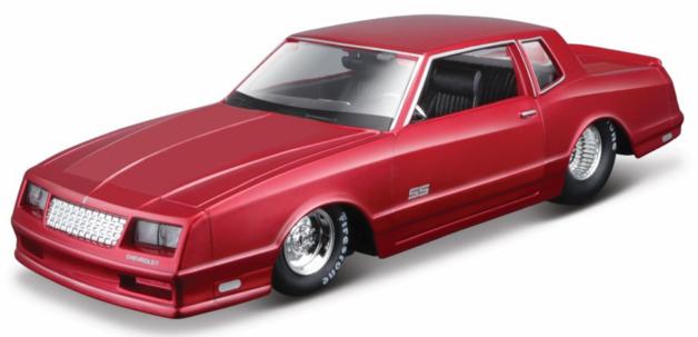 Maisto: 1:24 Die-Cast Vehicle - 1986 Chverolet Monte Carlo SS (Red)