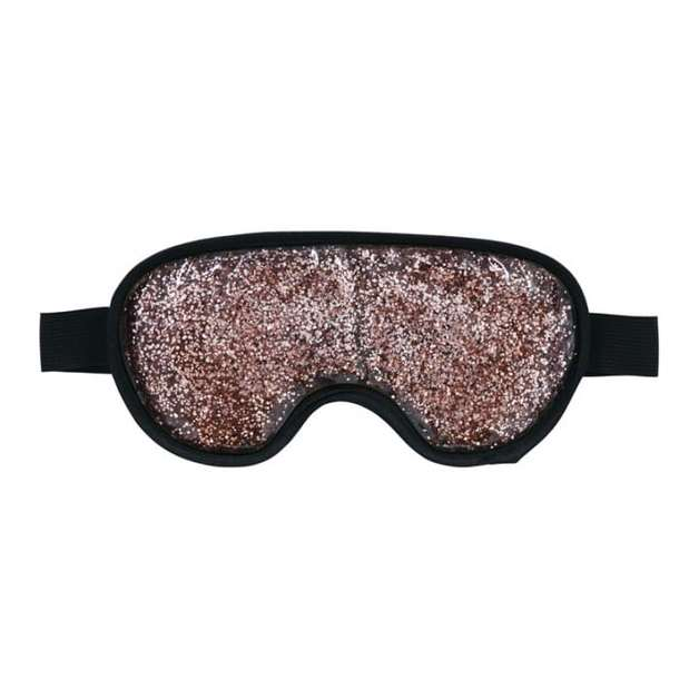 Annabel Trends: Gel Glitter Eye Mask - Bronze