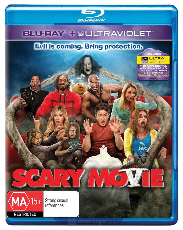 Scary Movie 5 on Blu-ray