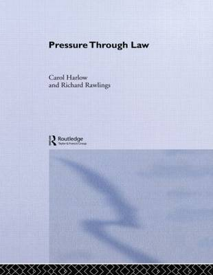 Pressure Through Law by Carol Harlow image