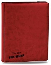 Ultra Pro: Premium 9-Pocket Pro-Binder - Red