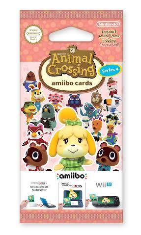 Animal Crossing amiibo Cards Pack (Series 4)