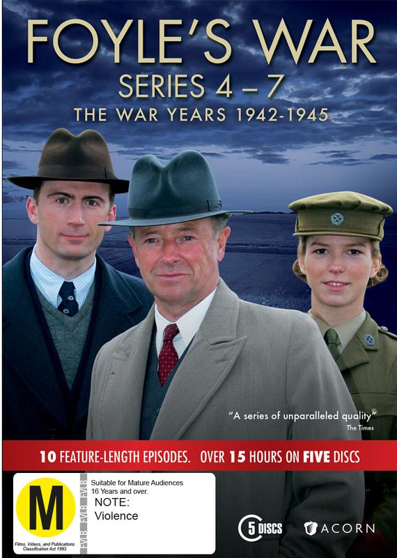 Foyle's War: The War Years 1942-1945 | DVD | In-Stock - Buy