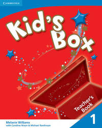 Kid's Box 1 Teacher's Book: Level 1 by Melanie Williams image