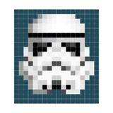 Ixxi: Star Wars Stormtrooper Pixel Wall Art - 180cm X 200cm