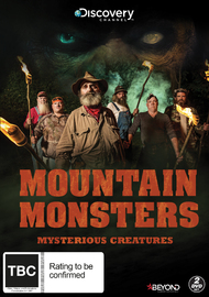Mountain Monsters: Mysterious Creatures on DVD