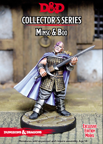 Dungeons & Dragons Classic: Minsc and Boo