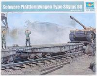 Trumpeter 1/35 Schwere Plattformwagen Type 80 - Scale Model