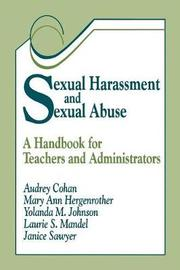 Sexual Harassment and Sexual Abuse by Audrey F. Cohan