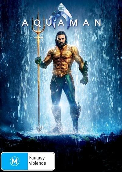 Aquaman on DVD image