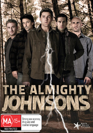 The Almighty Johnsons - Series 1 on DVD