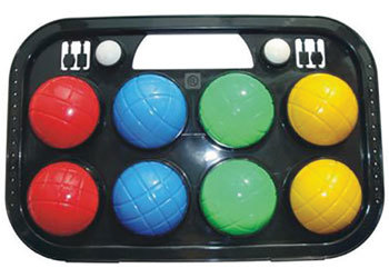 Orbit Toys: 8 Piece Bocce Ball Set In Case