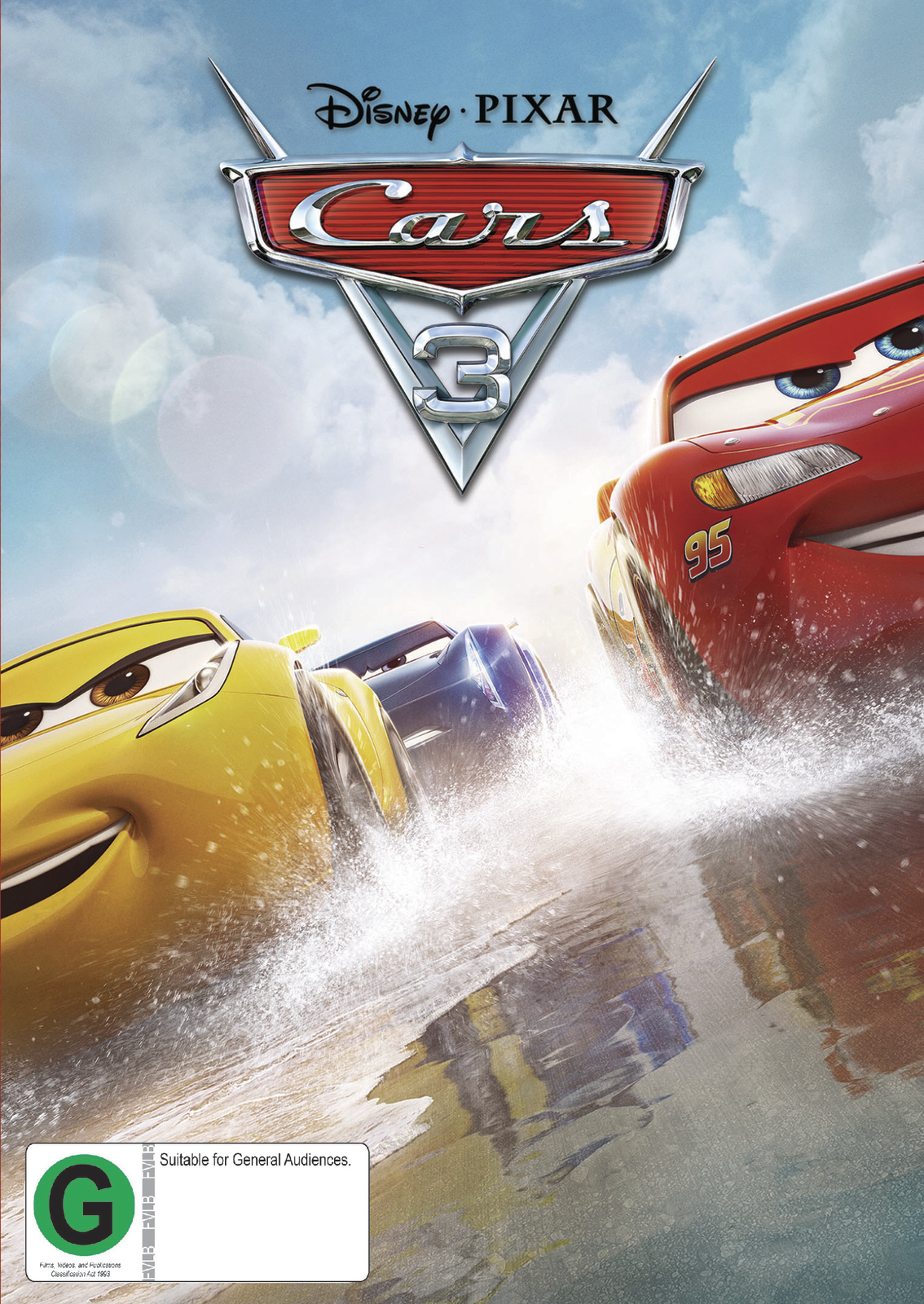 Cars 3 on DVD image