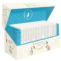 The World of Peter Rabbit Boxed Set (23 original books) by Beatrix Potter