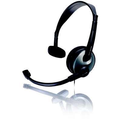 Philips SHM2000 Multimedia Headset for Skype/PC image