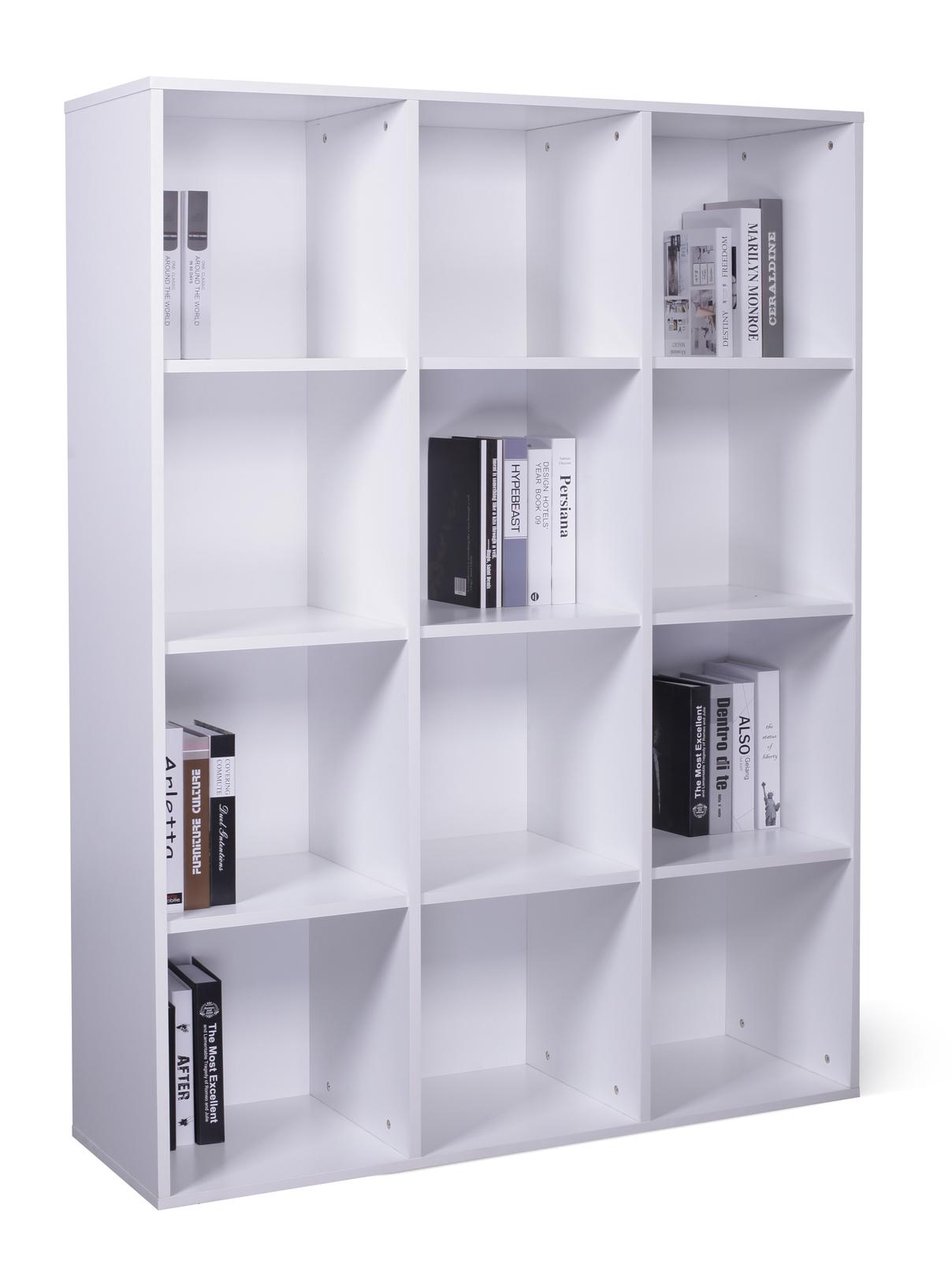 Ape Style: 12 Cube Storage Cubby - White image