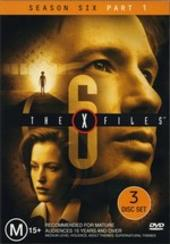 X-Files, The Season 6: Part 1 (3 Disc) on DVD