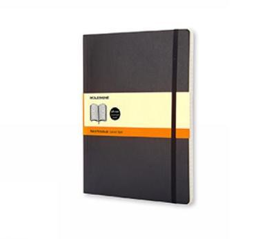 Moleskine Ruled Notebook (Extra Large, Soft, Black) by Moleskine