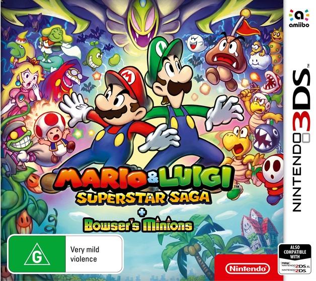 Mario & Luigi: Superstar Saga + Bowser's Minions for Nintendo 3DS
