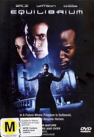 Equilibrium on DVD image
