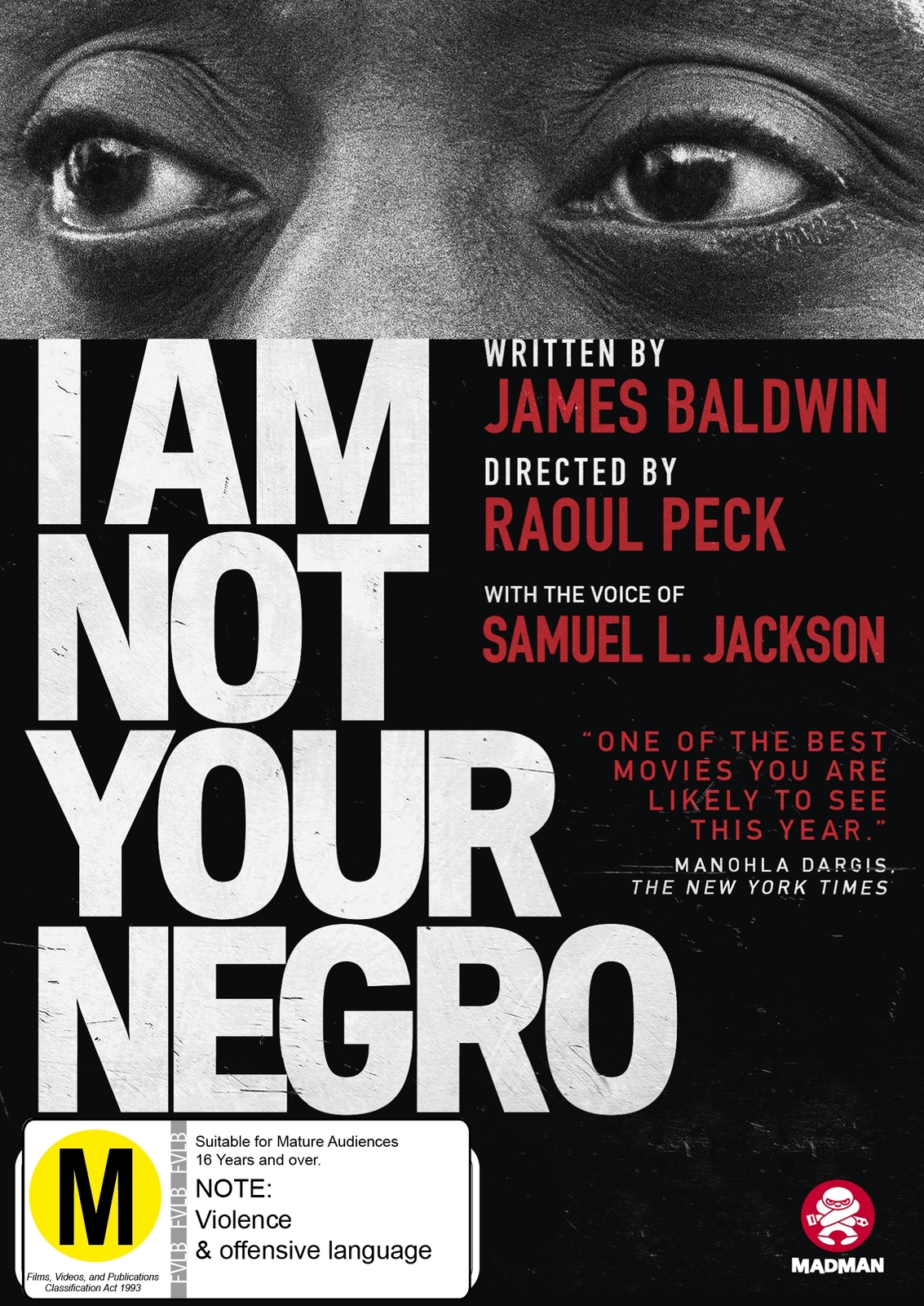 I Am Not Your Negro on DVD image