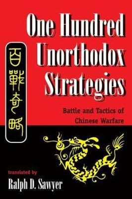 One Hundred Unorthodox Strategies by Ralph D. Sawyer image