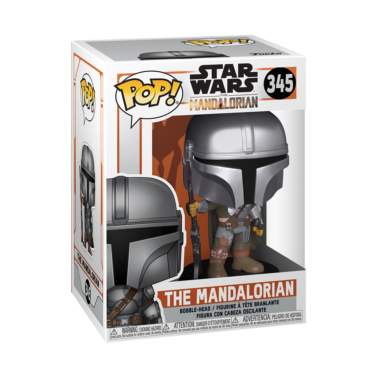 Star Wars: The Mandalorian (Metallic) - Pop! Vinyl Figure image