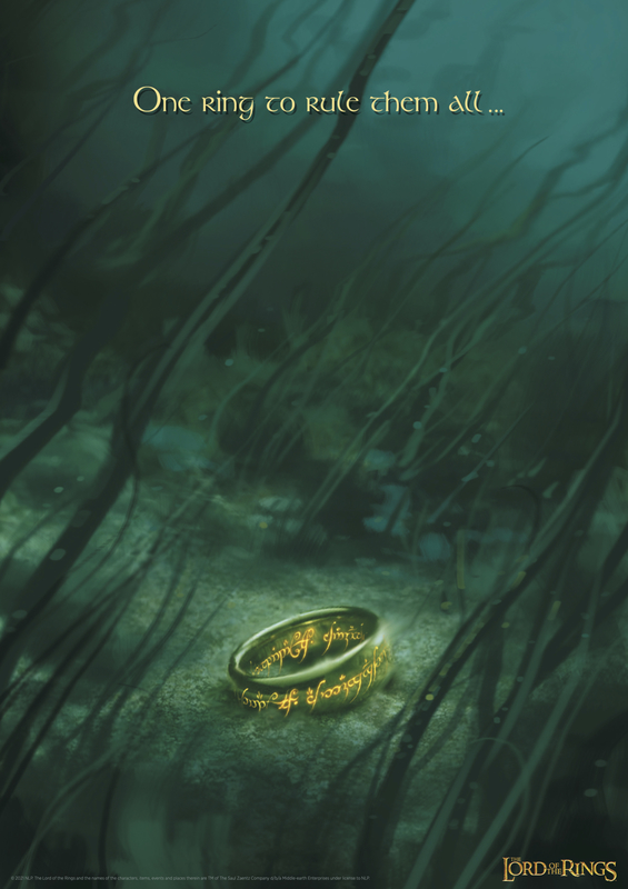 Lord of the Rings: The One Ring - Limited Edition Print
