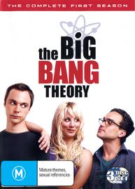 The Big Bang Theory - Complete 1st Season on DVD
