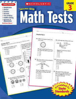 Math Tests, Grade 3 image