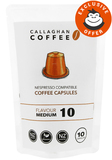 Callaghan Coffee Medium Coffee Capsules 10pk