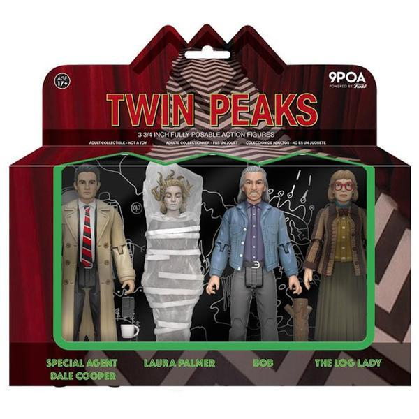 Twin Peaks - Action Figure 4-Pack
