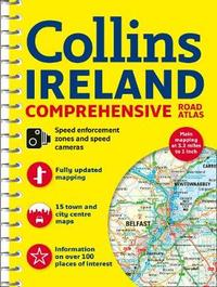 Comprehensive Road Atlas Ireland by Collins Maps