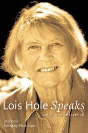 Lois Hole Speaks by Lois Hole image