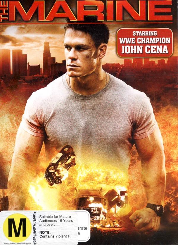 The Marine on DVD image