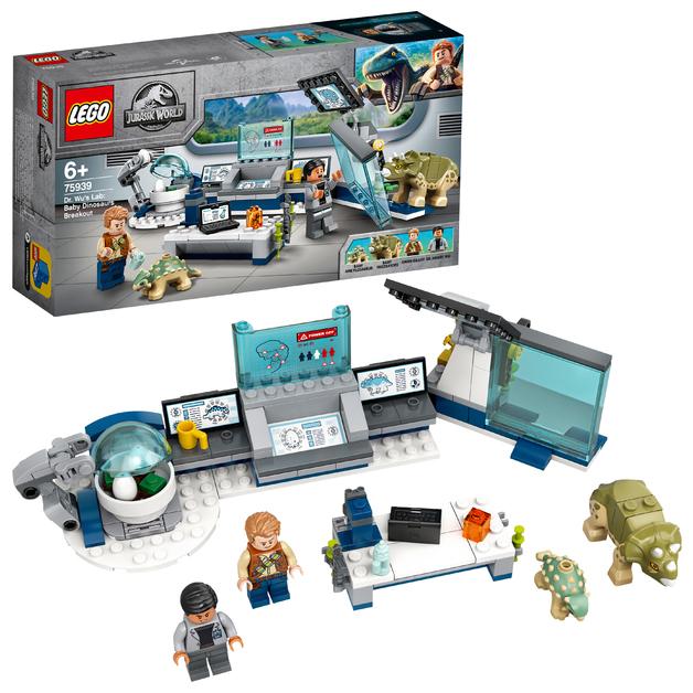 LEGO Jurassic World - Dr. Wu's Lab: Baby Dinosaurs Breakout (75939)