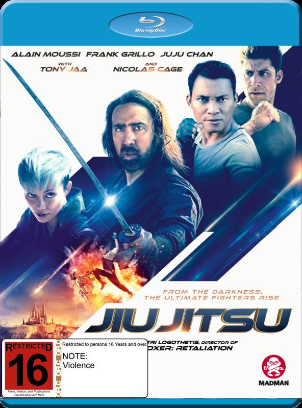 Jiu Jitsu on Blu-ray