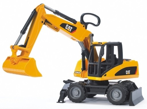 Bruder CAT Wheel Excavator