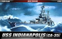 Academy USS CA-35 Indianapolis 1/350 Model Kit