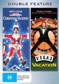 National Lampoon's Christmas Vacation / Vegas Vacation - Double Feature (2 Disc Set) on DVD image