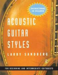 Acoustic Guitar Styles by Larry Sandberg image