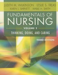 Fundamentals of Nursing, Volume 2 by F a Davis