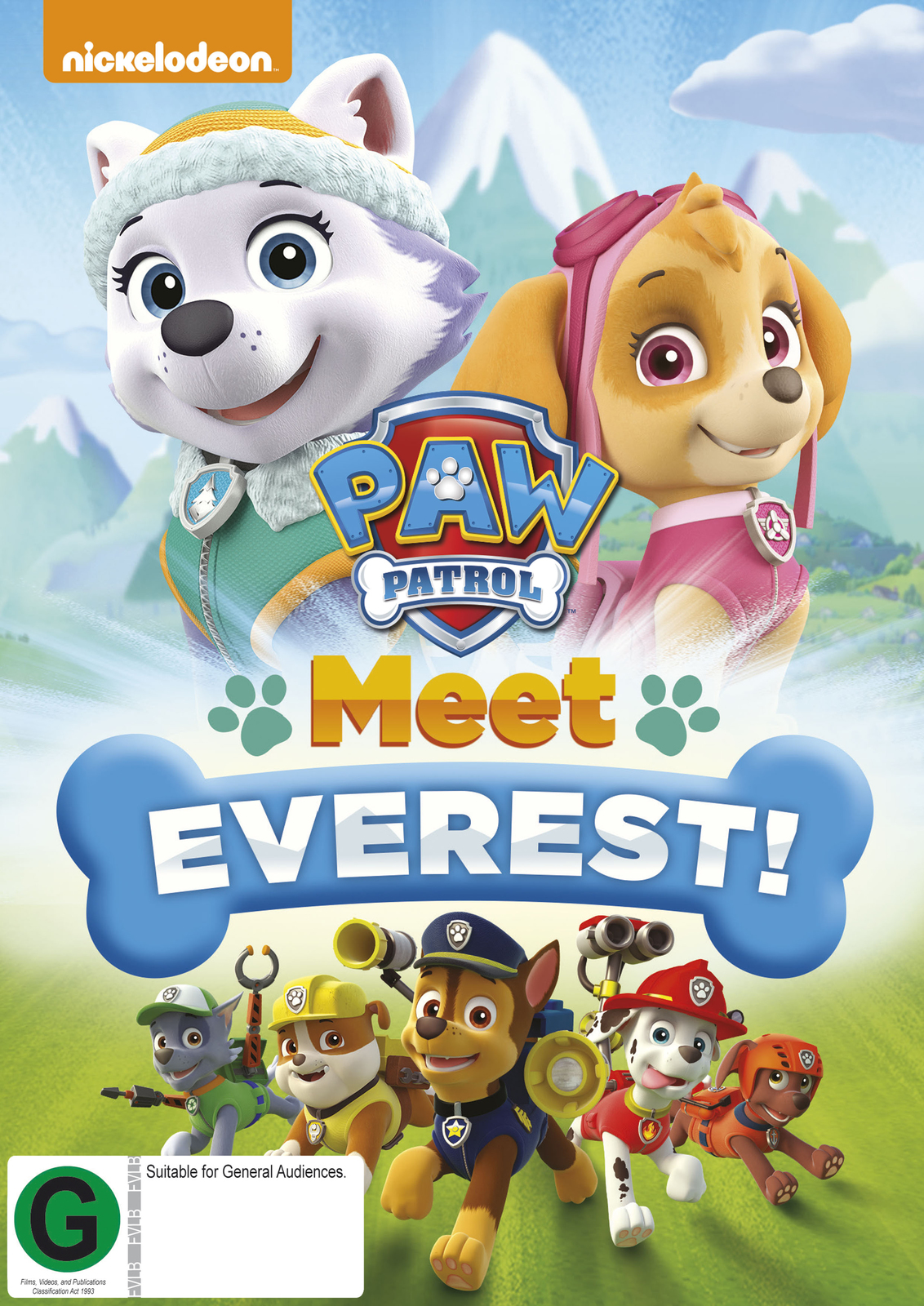 Paw Patrol Meet Everest on DVD image