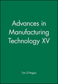 Advances in Manufacturing Technology XV image
