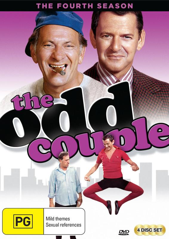 The Odd Couple (Season 4) on DVD
